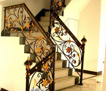 balustrade plein air rampe d 39 escalier int rieur en fer forg escalier balustrades buy. Black Bedroom Furniture Sets. Home Design Ideas