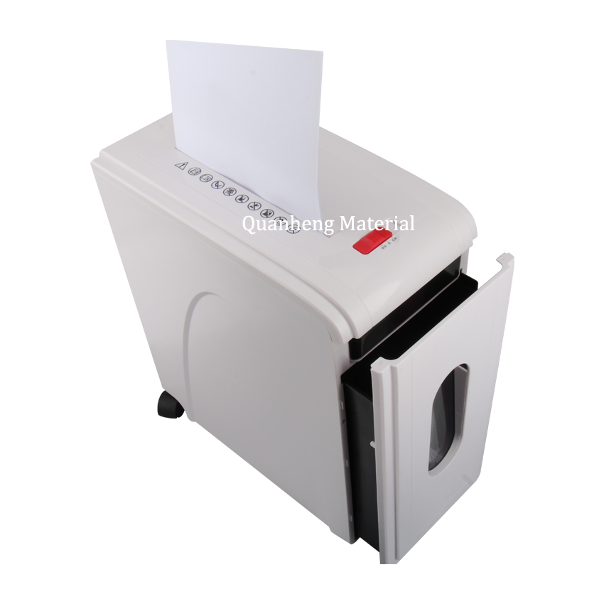 Hoge kwaliteit document shredding machine kaart/plastic shredder machine office gebruik papiervernietiger