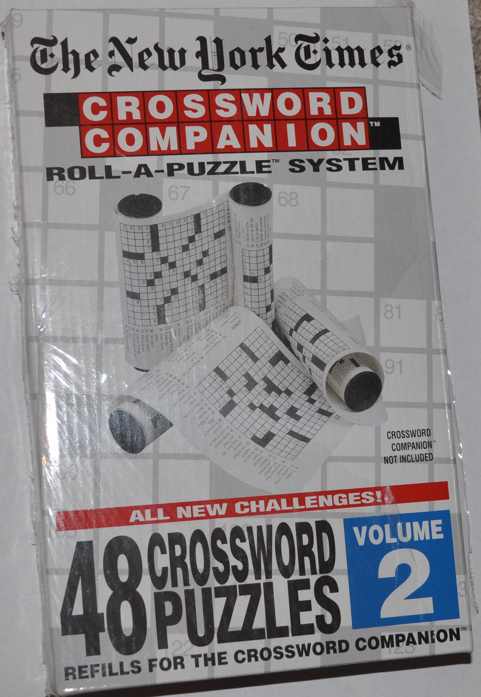 The New York Times: Crossword Companion Roll-A-Puzzle Refills Volume 2