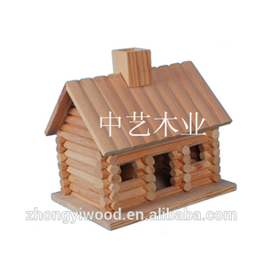 Handmade Custom Art Minds Wooden Craft Bird House