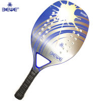 2019 New Design Lightweight carbon Beach Tennis racket