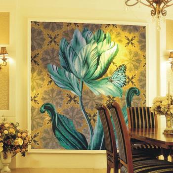 Pj007 Free Mosaic Flower Patterns,Fiberglass Mesh For Mosaic,Glass ...