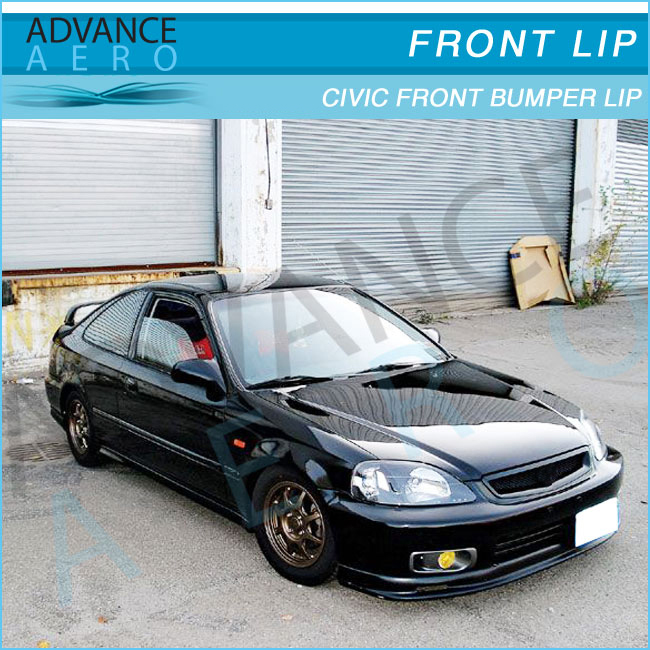 1998 honda civic ex coupe front bumper