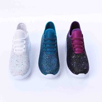 Wholesale Fashion Women Sequined Shoes Glitter Sneaker Women