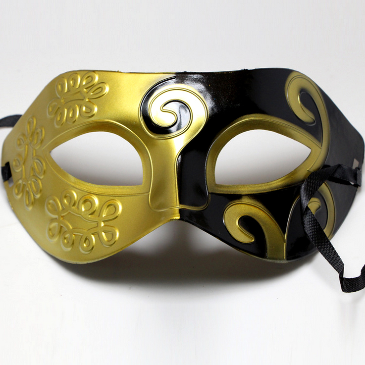Roman Masquerade Venetian Face Halloween Party Mask