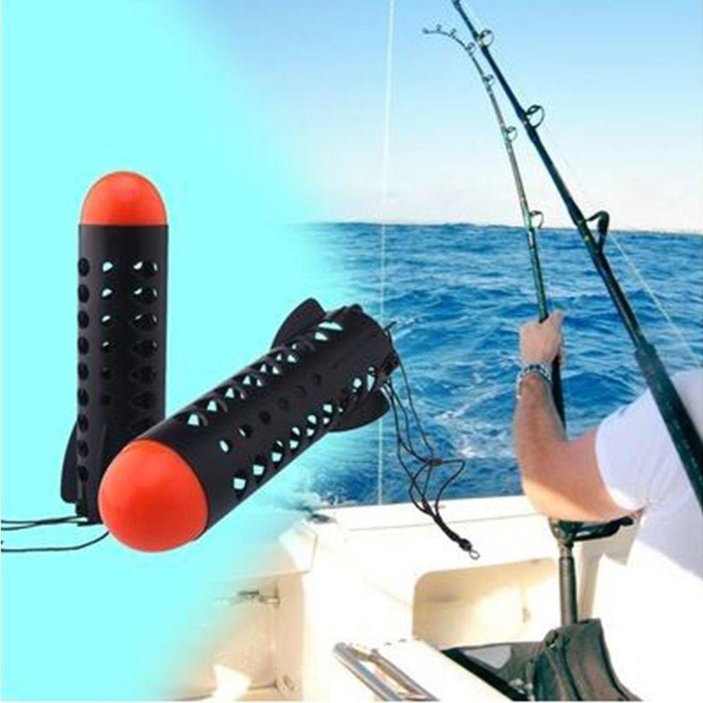 Amapower Black Orange Feeder Float Feeder Float Bait Holder Maker Tackle Tool Carp Rockets Fishing Feeders Large Spod Fishing Tackle Feeders Pellet Fish Tackle Tool