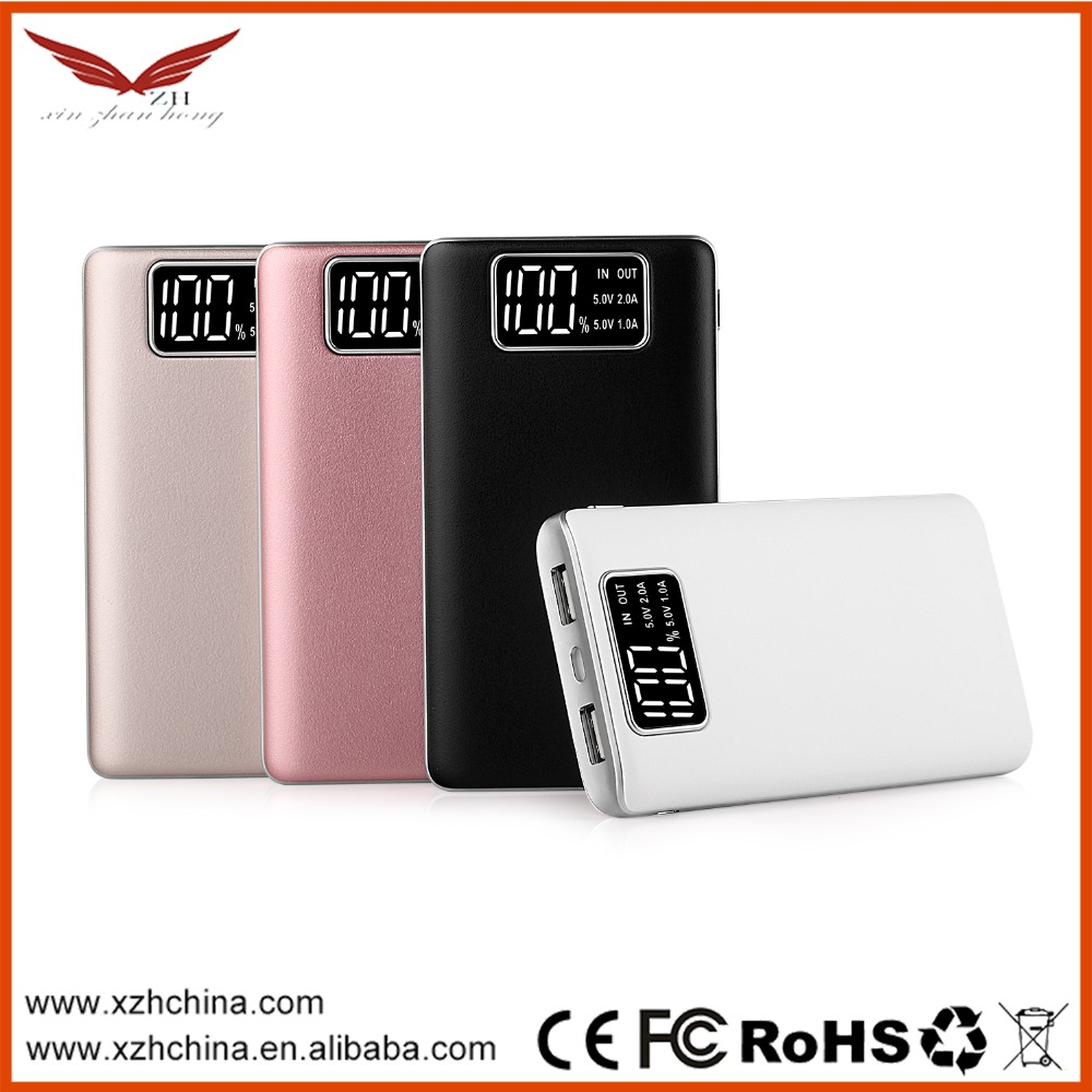 2017 new hot sale Mobile power bank 10000mah,power banks and usb chargers,mobile power supply