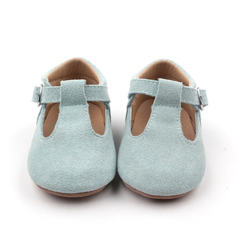 Hot selling baptism baby shoes girls flat dress shoes Tbar Baby Shoes