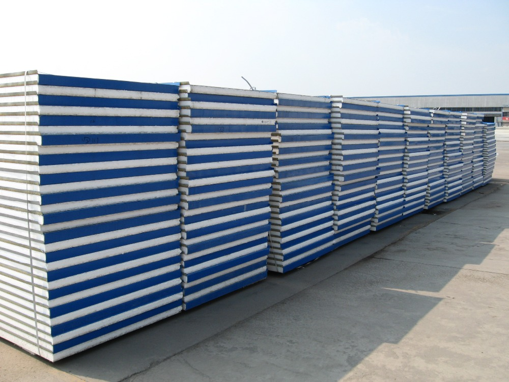 Prefab Insulated Wall Panels : Prefabricated light weight insulated interior wall panel