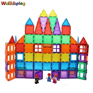 Top selling alibaba Magnetic Tiles Building Blocks BH-60pcs