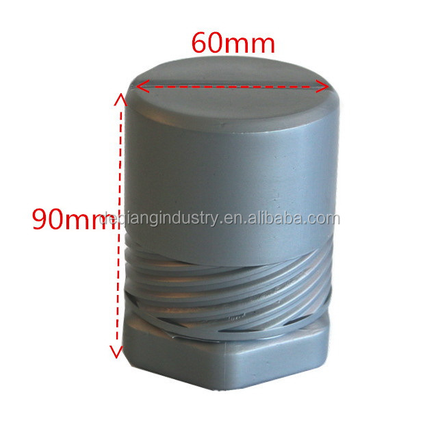 plastic package for tool and hardware Circular rotating protective plastic tool box 58mm*85mm