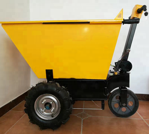 Electric Powered Platform Trailer Trolley
