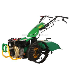 12HP Diesel Kama engine mini two wheel walking tractor,farming tractor,farm tractor