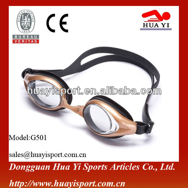 swimming goggles uv protect with nose clips and earplugs