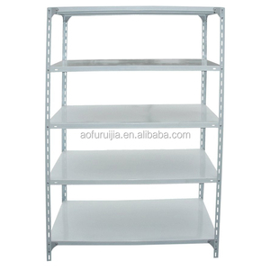 5 tiers metal slotted angle rack with bolts&nuts