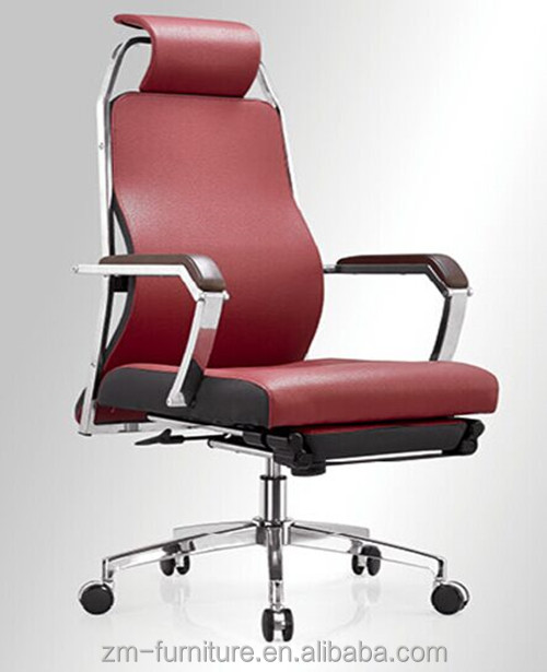 Swivel Red Office Chair leather computer chair