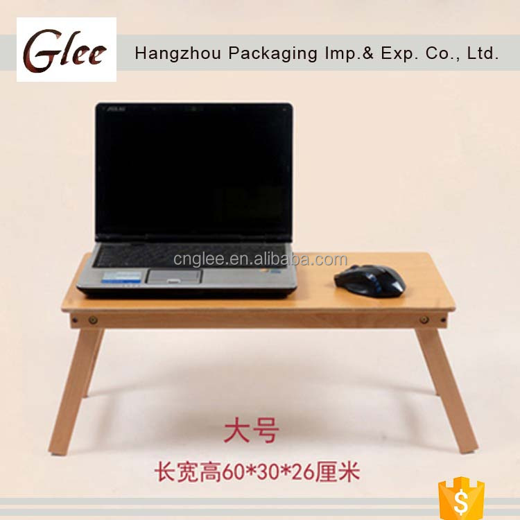 Elegant ec-friendly wholesales Small Portable Folding Laptop Table On Bed