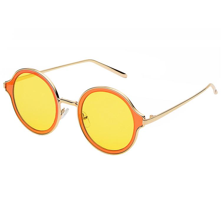 Guvivi comprar gafas de sol redondas de metal personalizado gafas ...
