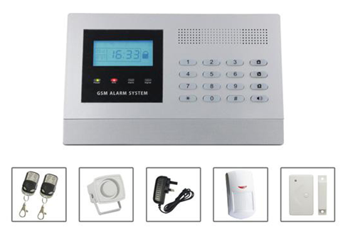 Full voice guide, Menu operation PSTN Alarm System with RF module