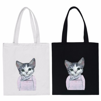 Wholesaler Best Quality fashion Cheap promotional Logo Printed Cotton Canvas Tote Bag