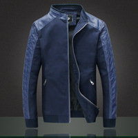 China Manufacturer Vintage Eco Leather Jacket For Men Low Price