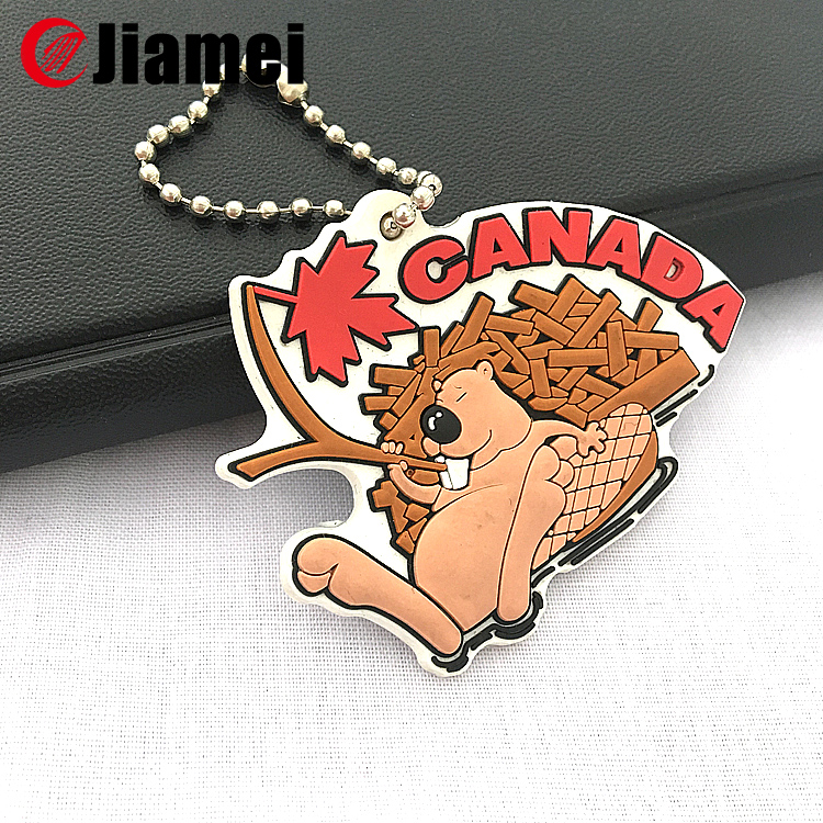 silicone rubber keychain wholesale cartoon key chain