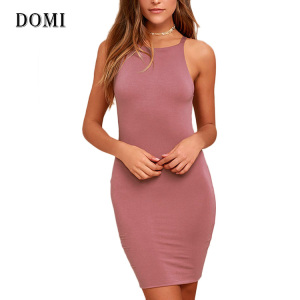 PERFECT SEXY BODYCON DRESSES PAYRTY SLEEVELESS BODYCON DRESS