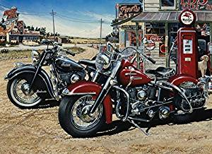 Two for the Road, A 1000 Piece Jigsaw Puzzle by Cobble Hill