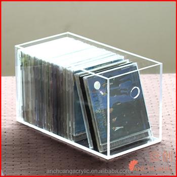 Clear Acrylic cd case/box/rack & Clear Acrylic Cd Case/box/rack - Buy Acrylic Cd CaseCool Cd Box ...