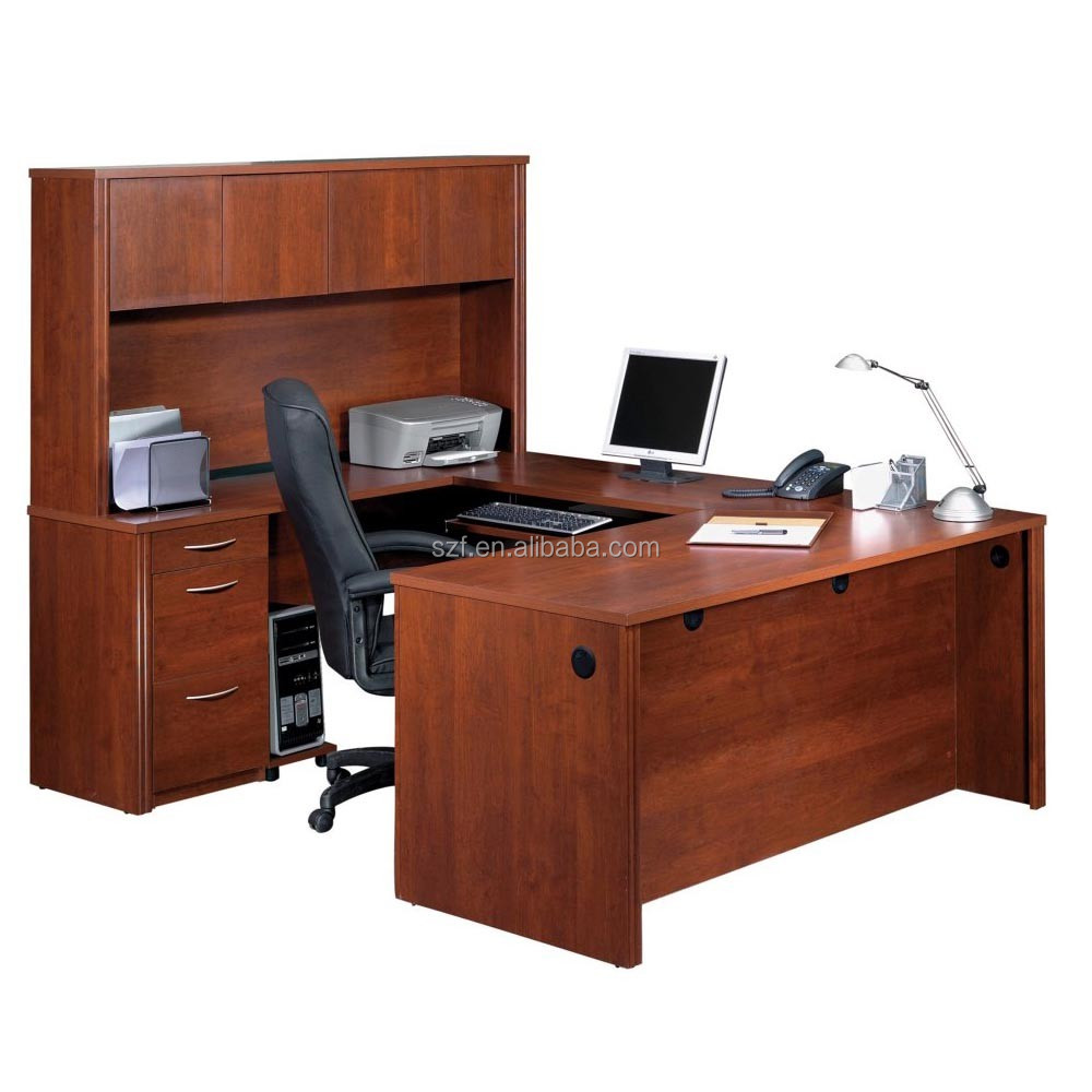 New design office desk ceo melamine wooden