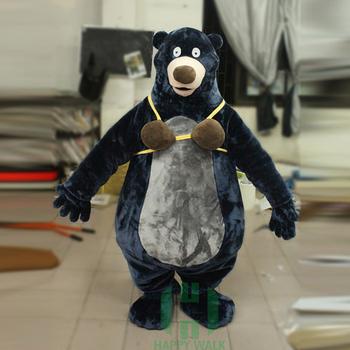 personnalis dr le adulte baloo l 39 ours mascotte de costume buy adulte baloo costume d 39 ours. Black Bedroom Furniture Sets. Home Design Ideas
