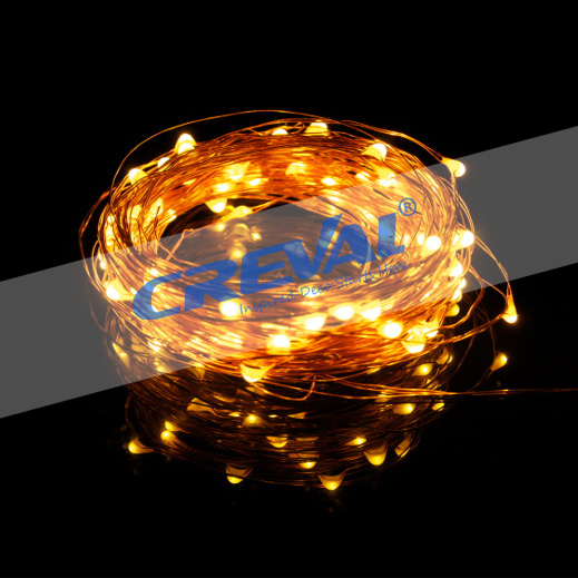 10m 33ft Remote Control Dimmable Flash Fairy Led Holiday Copper Wire Starry String Lights