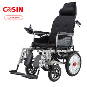 high back electric mobility wheelchairs with commode