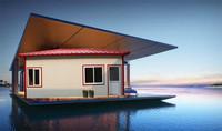 transport but low cost u shape economic prefab houses