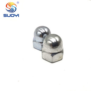 China hardware product din 1587 cap nut fasteners