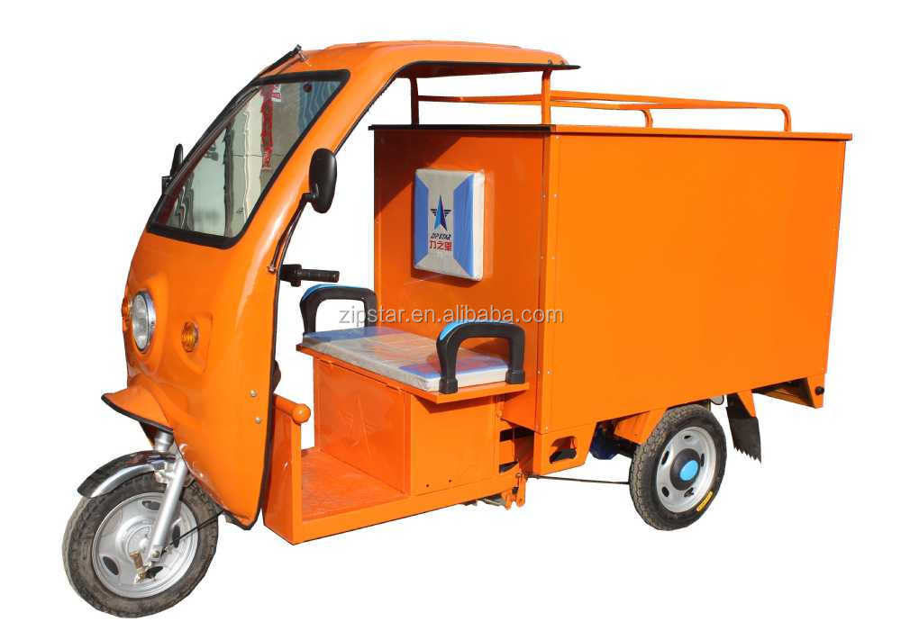 Electric Van Cargo Tricycle / Delivery Tricycle with Closed Cargo Box  sc 1 st  Alibaba & Electric Van Cargo Tricycle / Delivery Tricycle With Closed Cargo ... Aboutintivar.Com