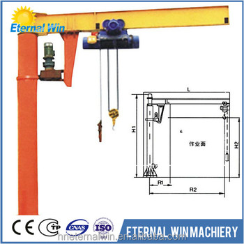 Electric Hoist 5 Ton Jib Crane Design Calculation Buy 5