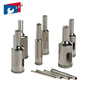 Diamond Grit Hole Saw Drill Bit for glass