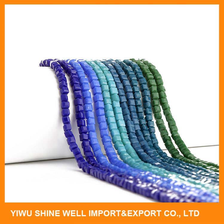 Best selling custom design solid color wholesale acrylic beads manufacturer sale