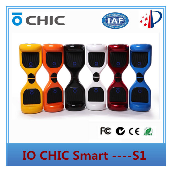 Mini io chic Smart Hoverboard electric Self Balancing Scooter 2 wheels with CE FCC RoHs MSDS