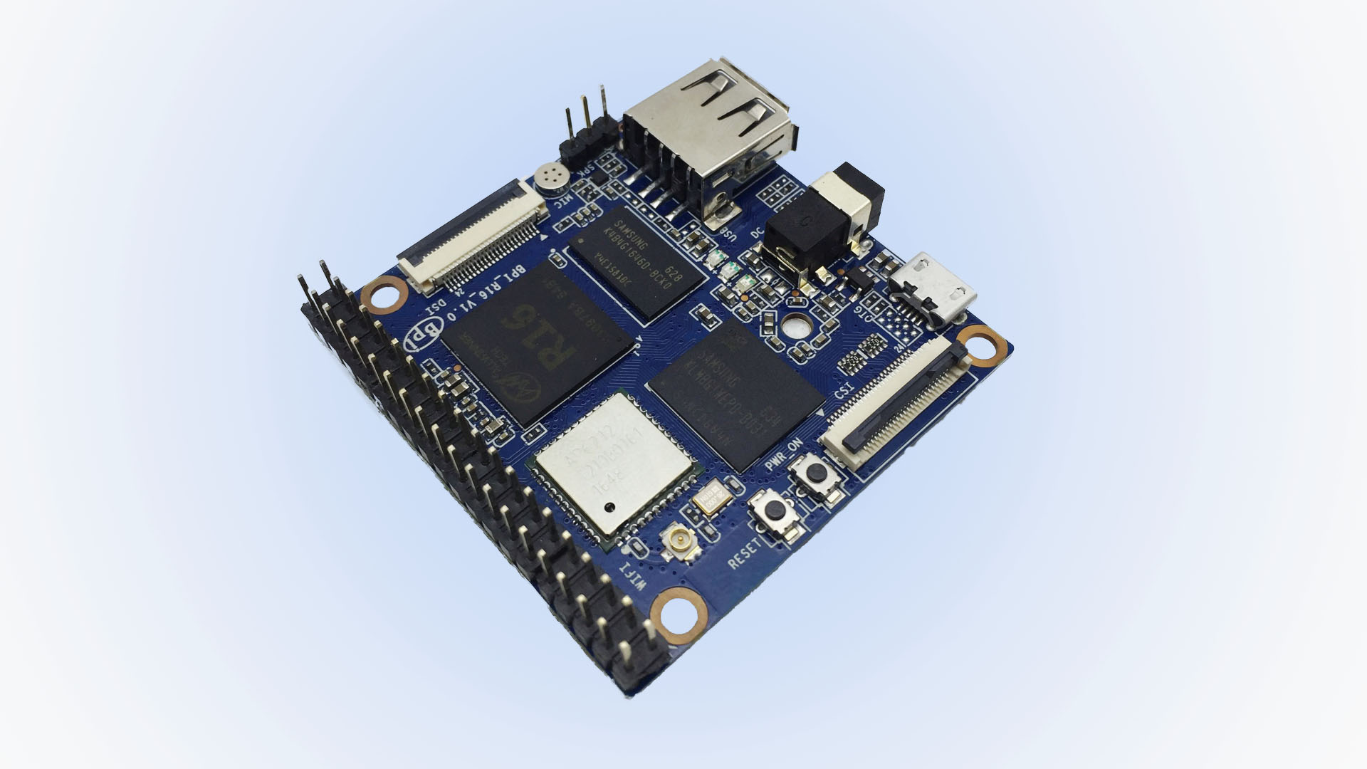Banana pi M2 magic R16 development board with 8GB emmc