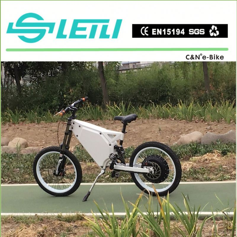 2017 new model ebike with 72v 8000w mid drive motor 72v19Ah Li-ion battery electric bike