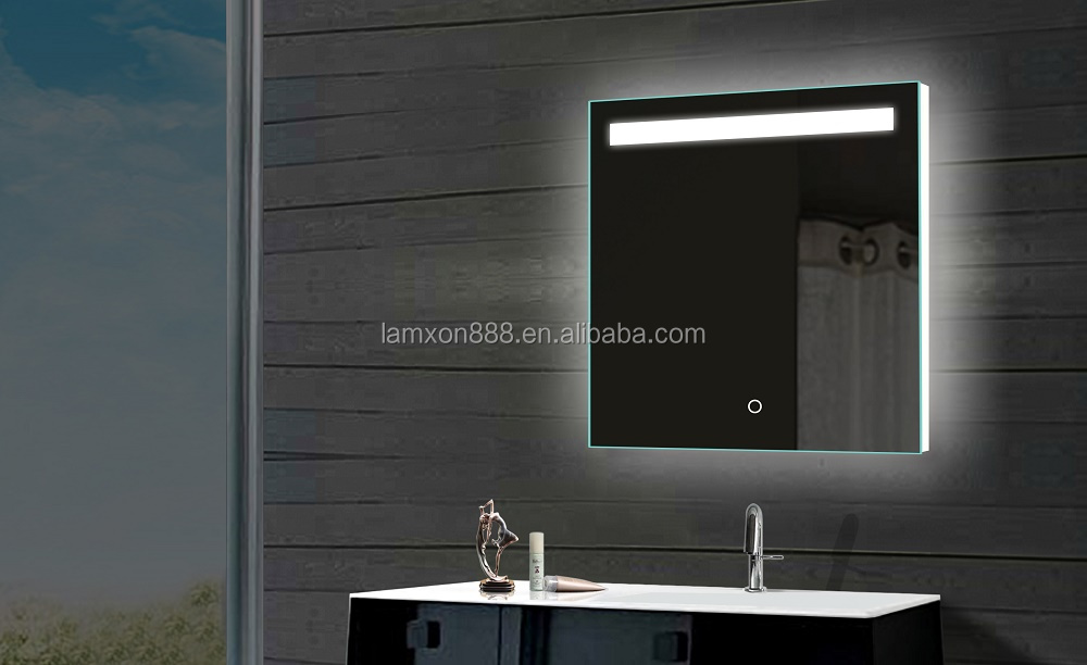 Top quality led lighted bathroom mirror ,up gross and mirror with led lights