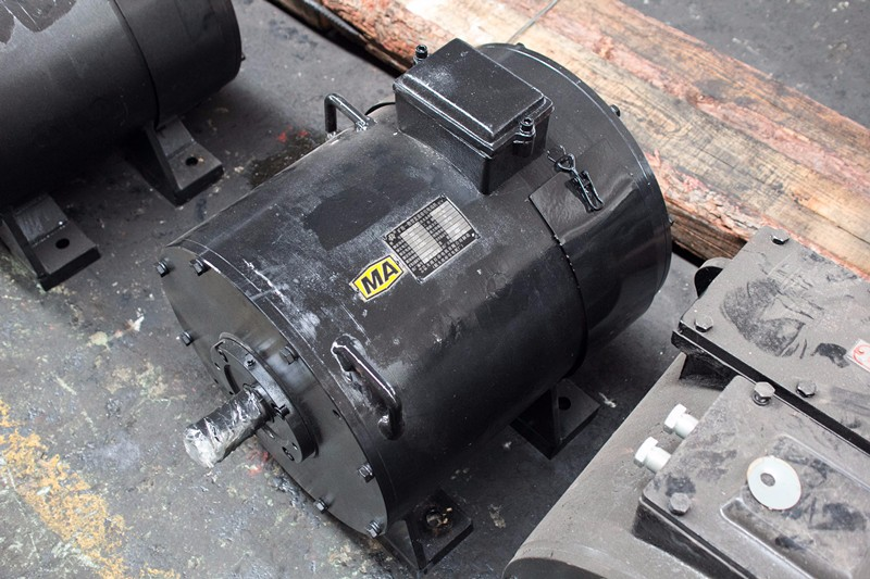 Dc Traction Motor Motor For Electric Locomotive Spare