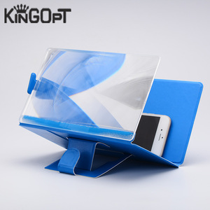 Kingopt Super Clear Smartphone Magnifier 2x-4x with Holder Foldable Magnifying Glasses