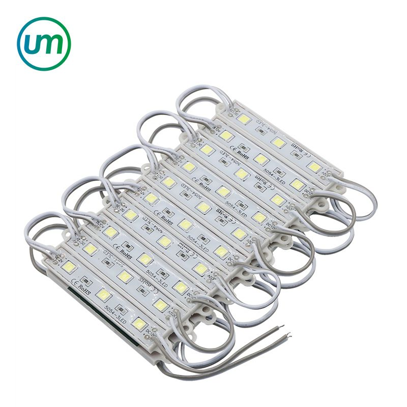 Waterproof IP65 SMD 5050 DC12V 3 Led <strong>Modules</strong> Lighting White/ Warm White/ Red/ Blue/ Green/ Yellow Color