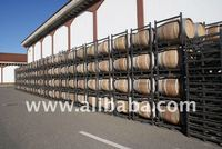 Used barrels for decorations
