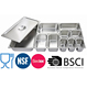Stainless Steel Gastronom Tray, GN Pans,Food Service Tray with NSF certificate
