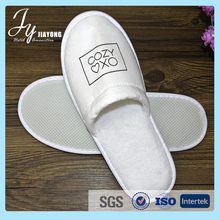 Professional hotel supplies sleep shoes 100% cotton hotel slippers