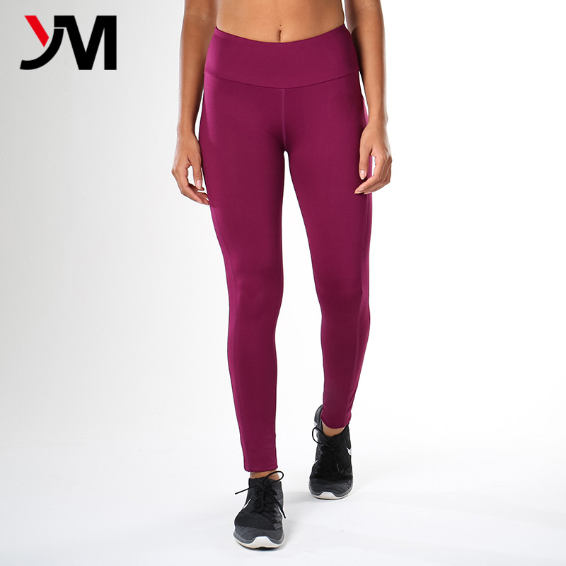 Latest design breathable fabric wholesale fitness clothing tights leggings pants for women